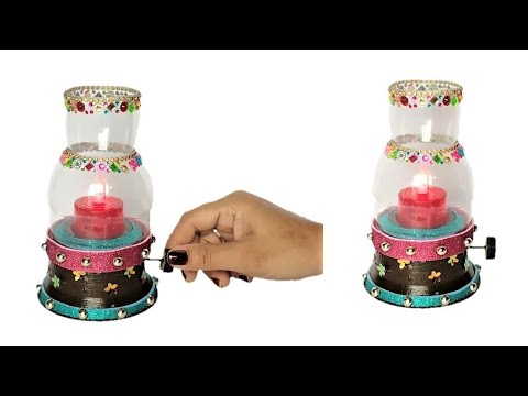Easy Decorative Plastic Bottle Lamp | Reuse Recycle Ideas Of Waste Material