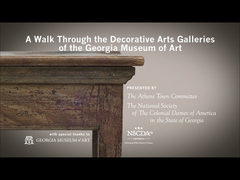 A Walk Through the Decorative Arts Galleries at the Georgia Museum of Art