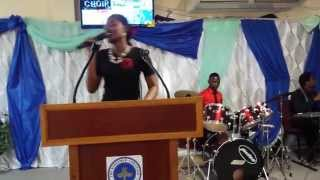 Glorify me by salvation ministry choir, performed by The RCCG Manifestation Parish choir, St Kitts.