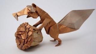 Origami Prehistoric Squirrel - Scrat (Fernando Gilgado)