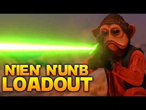 Star Wars Battlefront: THE NIEN NUNB LOADOUT (You Choose My Loadout)
