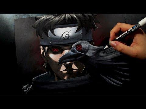 Speed Drawing - Shisui Uchiha [NARUTO]