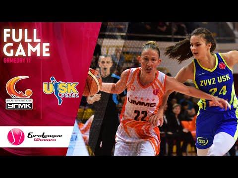 UMMC Ekaterinburg v ZVVZ USK Praha - Full Game - EuroLeague Women 2019-20