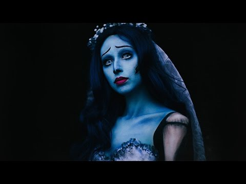 Tim Burton's Corpse Bride Emily Makeup   Halloween 2016