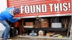 I Bought A Storage Auction Locker For $140 ... LOOK What Was Inside!