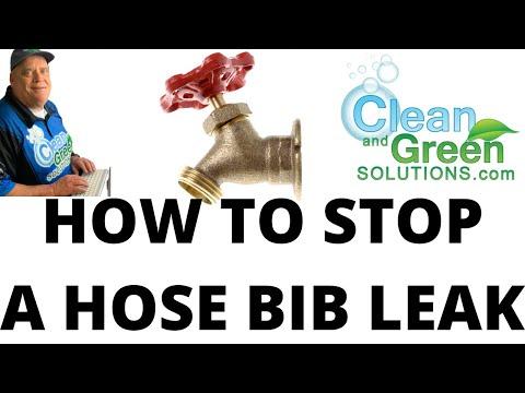 Stopping A Hose Bib Leak You