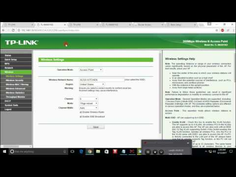 How to Configure Multiple SSIDs On Multiple Access Pointson Multi Channels