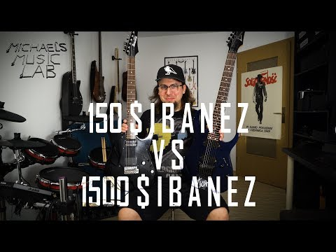 Is the higher price worth it? - IBANEZ GIO vs. IBANEZ CUSTOM