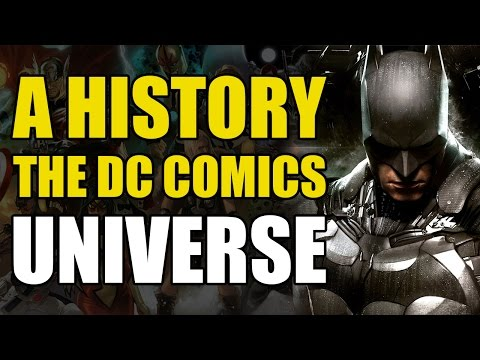 A History of The DC Universe - Part 1 - Old & New Gods