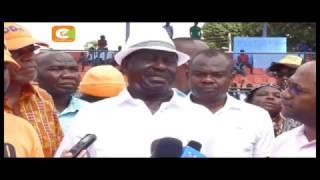 Raila ahudhuria mikutano ya chama Mombasa