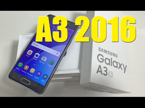 Samsung Galaxy A3 (2016): Unboxing & hands-on review