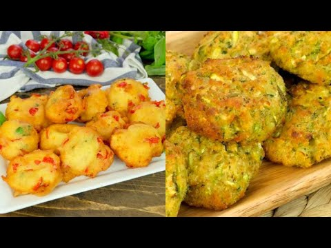 3 recipes to making fritters that are soft inside and crunchy outside