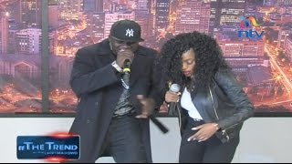 Khaligraph Jones and Cashy perform 'Micasa Sucasa' on #theTrend