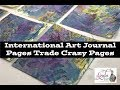 International Art Journal Pages Trade Crazy Pages Round 2