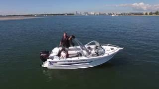 Quintrex 481 Fishabout - Boat Reviews on the Broadwater