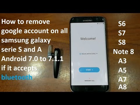 how to remove google account on samsung s7 edge android 7 and all samsung if it accepts bluetooth thumbnail