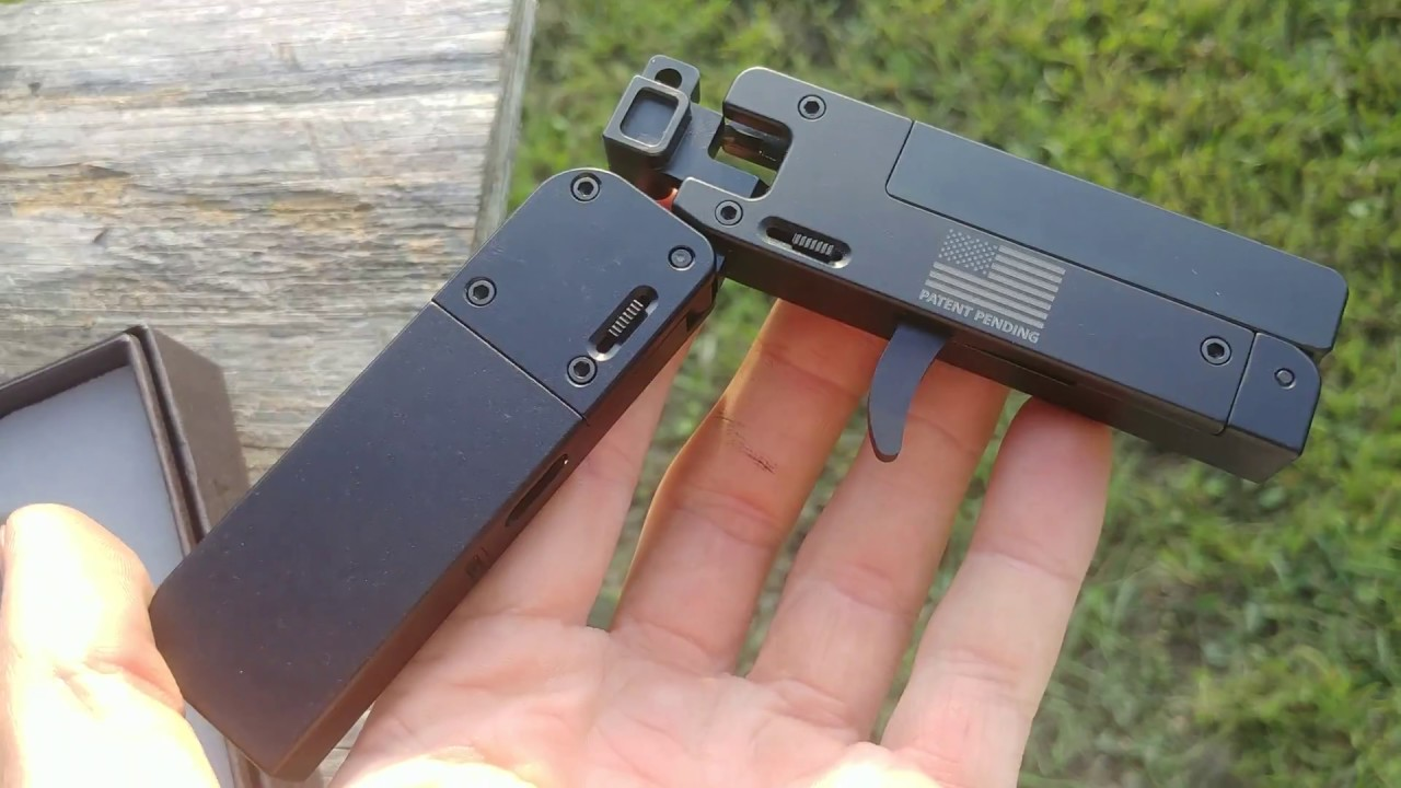 Another Look at the  22LR LifeCard, a Credit Card-Sized