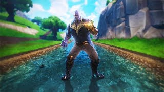BEATING THANOS' ASS (Fortnite Infinity Gauntlet Gameplay)