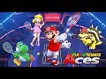 Mario Tennis Aces but some funny stuff happens