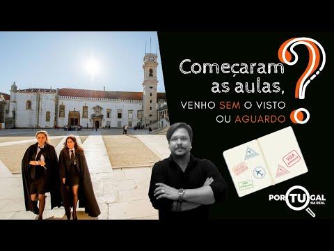 Começaram As Aulas, Venho Sem O Visto Ou Aguardo?   Portugal Na Real