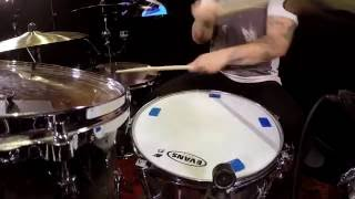 Industry Groove - Aaron Gillespie [FULL PRACTICE] 180 Drums