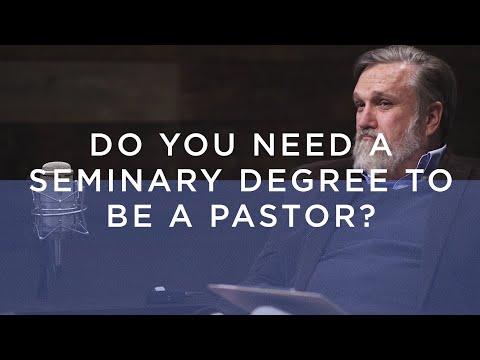 Do I Need A Seminary Degree To Become A Pastor? / Ask Doug
