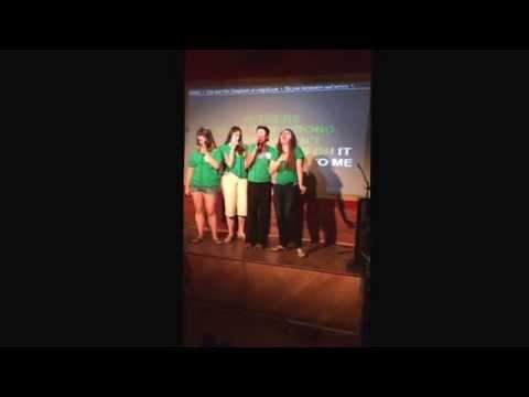 Gotham city karaoke league F.U.C.K.E.R.S. Performing Roll To You