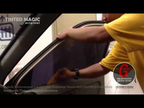 Pemasangan Tinted Magic Globe Store/Sesuai Untuk Cuaca Panas Di Malaysia