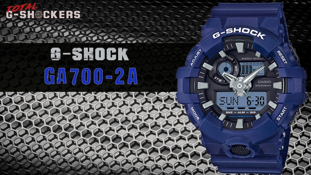 83ae8f3978d3a Casio G-SHOCK Analog-Digital GA700-2A