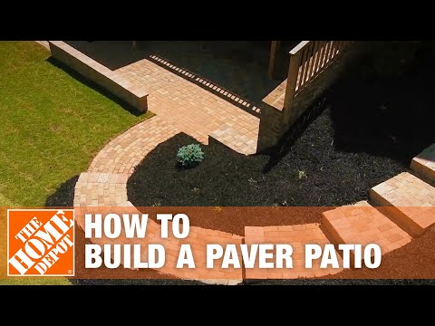 How to Build a Patio: DIY Paver Patio