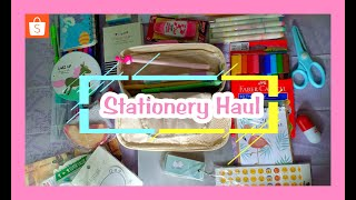 STATIONERY HAUL LUCU + MURAH [ INDONESIA ] || HAUL SHOPEE
