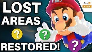 Three UNEXPLORABLE Mario Areas Restored by Hacking! (Super Mario Galaxy 2)