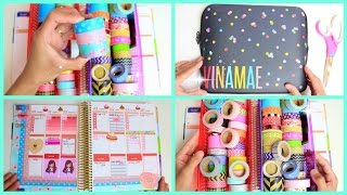 Plan With Me! #12 | Pretty in Pink | Decorating My Erin Condren Planner