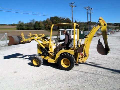 Terramite T6 Tractor Loader Backhoe Youtube
