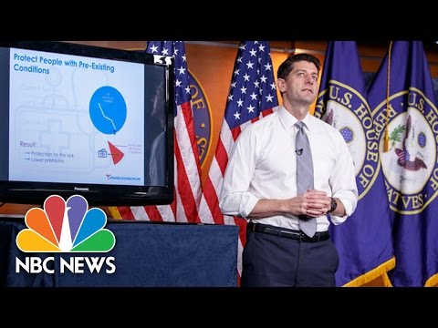 Speaker Paul Ryan Gives PowerPoint On Obamacare Replacement | NBC News
