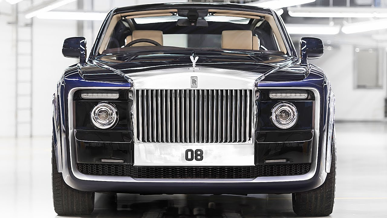 World S Most Expensive Car 13 Millions Rolls Royce