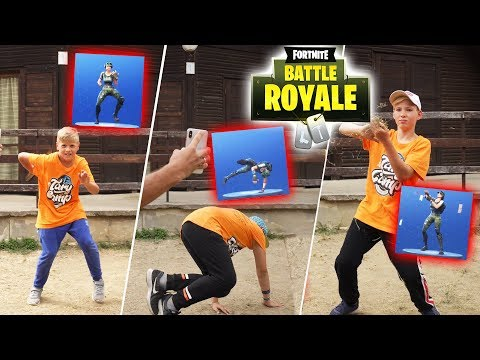 Fortnite Dance Challenge #2   Tary Camp 2019