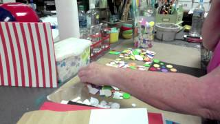 Fun Foam Stamps for Gelli Plate - Patti Tolley Parrish - Inky Obsessions