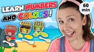 Best Learning Video for Toddlers | Learn Colors with Surprises | Learn Numbers, Counting and Shapes