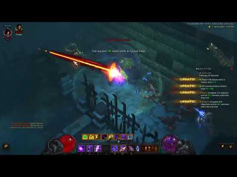 Dablo 3 Season 12 Wizard Vyr's Set Dungeon