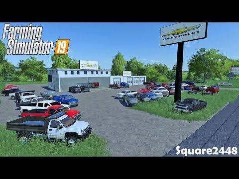 New Arrivals   Chevy Dealership   Adding GMC'S   Farming Simulator 19