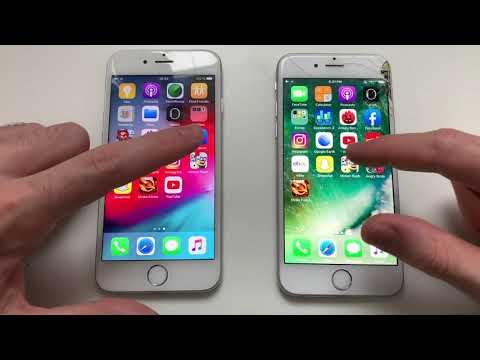 iOS 12.3.1 vs 10.3.3 iPhone 6 !