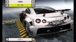 Need For Speed Prostreet Nissan GT-R Tuning,Test