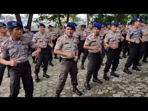 Joget Maumere Polair Polda Riau