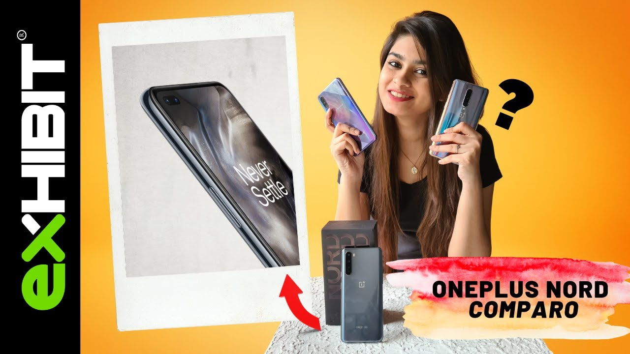 OnePlus Nord Unboxing & Comparison | OnePlus Nord vs OnePlus 8 vs Samsung A50s