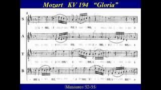 Alto Mozart KV194 -2 Missa Brevis Gloria