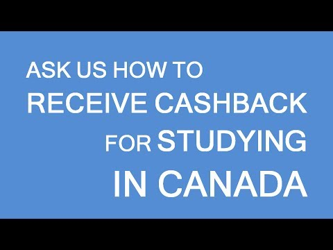 Cashback for foreign students! Get your tuition fees back. LP Group Canada