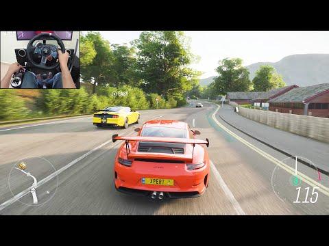 2019 Porsche 911 GT3 RS - Forza Horizon 4 | Logitech G29 Gameplay