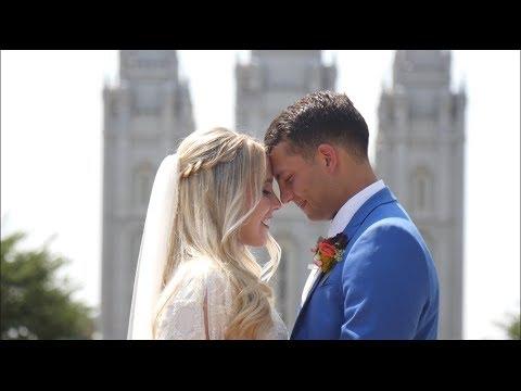 Salt Lake Temple Wedding | Cory & Megan