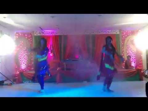 Hindi Medley Dance At Sadia's Wedding (Holud Night) in Dhaka,Bangladesh !
